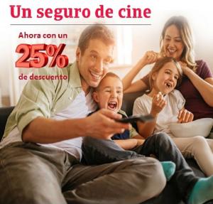 Un seguro de cine seguros para el hogar salud vida for Mejor seguro hogar ocu 2017
